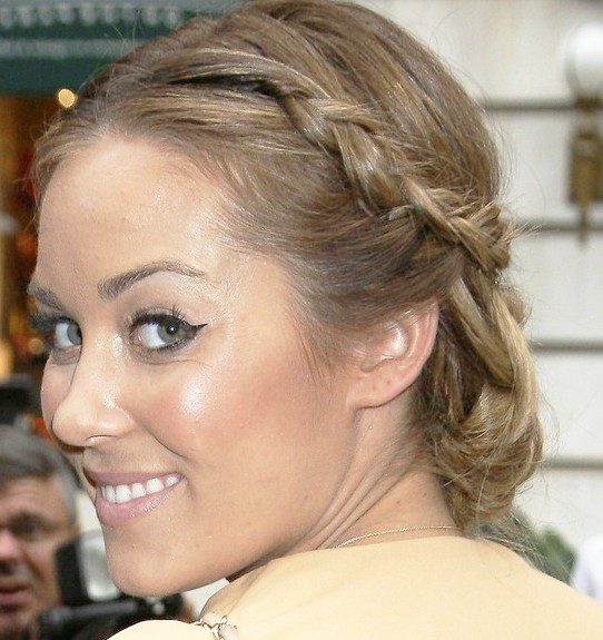 Lauren Conrad Braided Bun for Summer