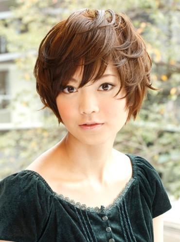 Layered Japanese Hairstyle