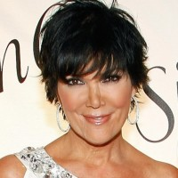 2013 Layered Short Black Hairstyle