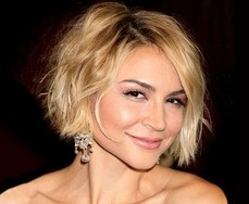 Layered Short Ombre Bob Haircut 2014