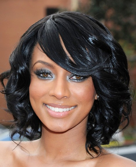 Sleek African American Prom Hairdo Medium Black Prom Hairstyles