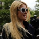 Paris Hilton Long Sleek Hairstyle