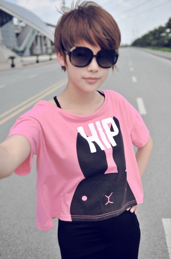 Pixie Cut For Asian Girls Hairstyles Weekly