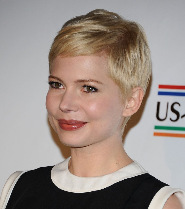 Pixie Haircut for round faces - Hairstyles Weekly