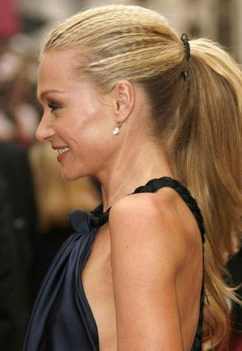 Hairstyles In Ponytails : Celebrity Ponytail Hairstyle Ponytail for women