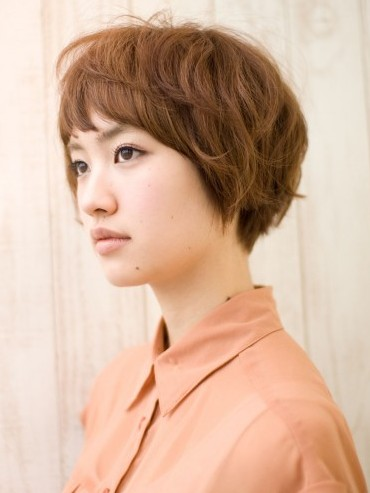 Popular Japanese Haircut side view