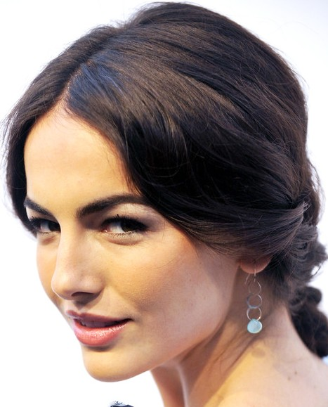 Romantic Chignon for Summer