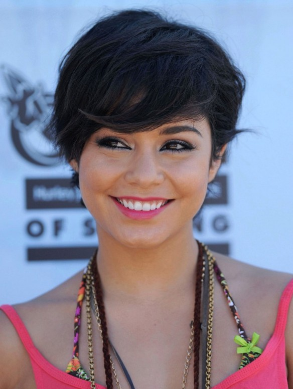 2013 Short Black Hairstyle with Bangs Hairstyles Weekly