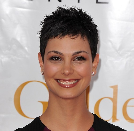 Short Black pixie hairstyle
