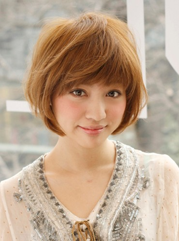 Short Brown Japanese Hairstyle Hairstyles Weekly