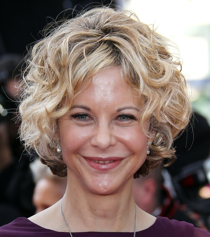 Short Hairstyles for Curly Hair Women Over 50