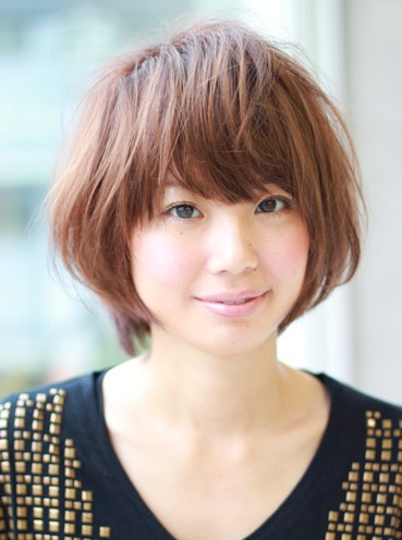 Short Japanese Hairstyle 2013