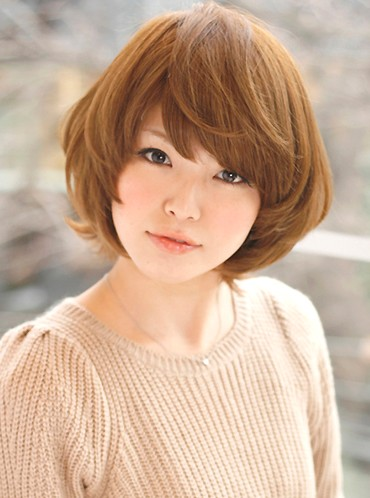 Short Japanese Hairstyle for girls