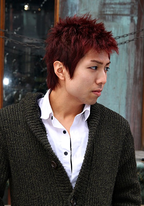 Short Korean Hair Style for Men
