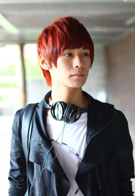 Outstanding Red Korean Short Hairstyles Men 526 x 761 · 72 kB · jpeg