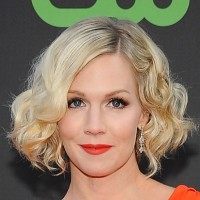 Celebrity Short Wavy Curly Hair Style