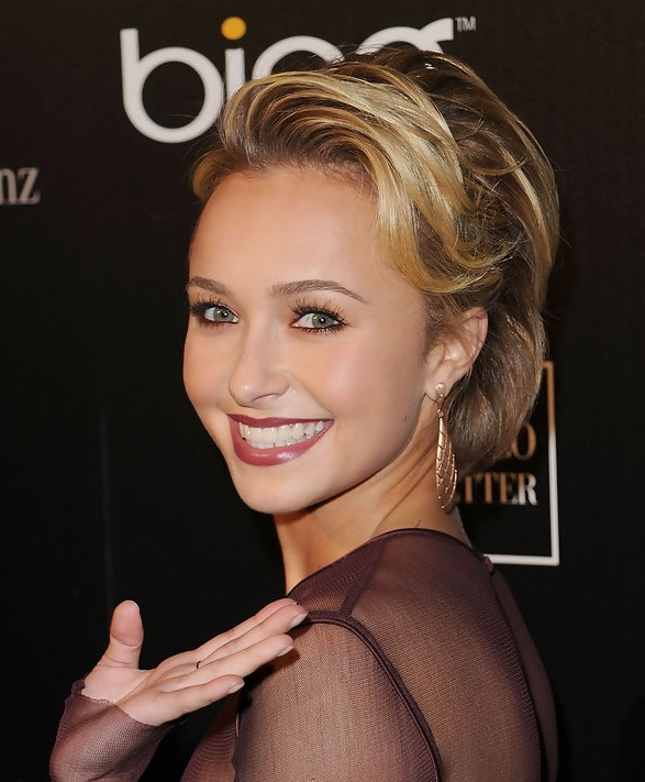 Amazing Hayden Panettiere Short Hairstyle 587 x 711 · 85 kB · jpeg