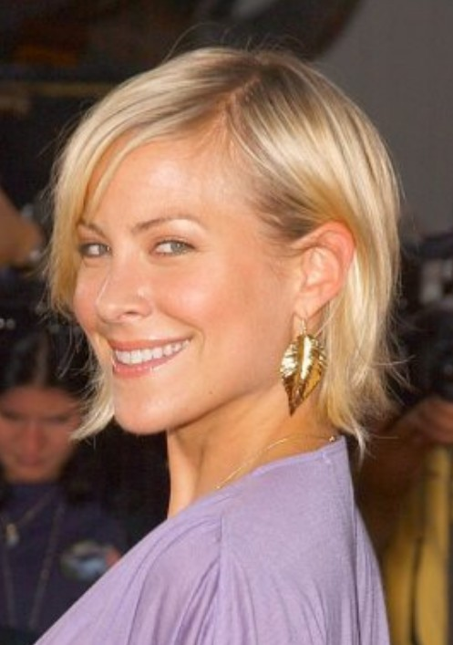 Another picture of Short Wedge Hairstyle from Brittany Daniel
