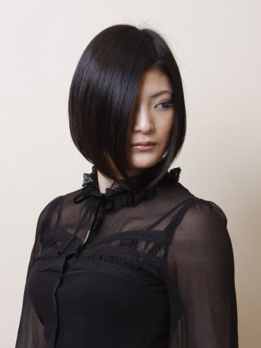 Sleek Japanese Bob Hairstyle Hairstyles Weekly