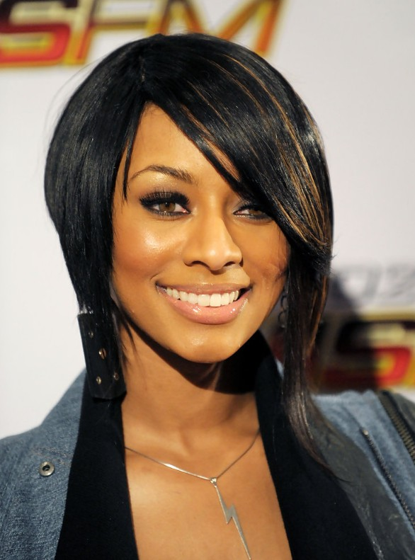 Sleek Inverted Bob Hairstyle for Black Women