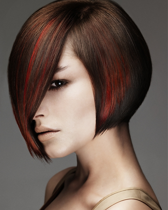 invert bob hair style for women, this is a good hair for thick hair