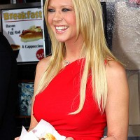 Tara Reid Long Blonde Hair Styles