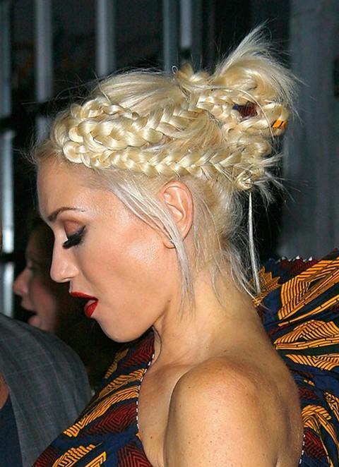 Magnificent Trendy Braided Updo Hairstyles Hairstyles Weekly Short Hairstyles Gunalazisus
