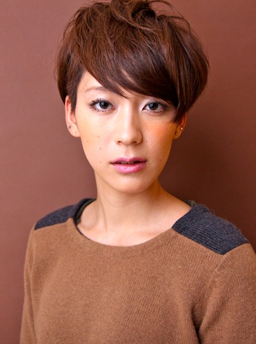 Boyish Japanese Haircut 2012