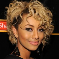 Trendy Short Curly Hairstyle 2013