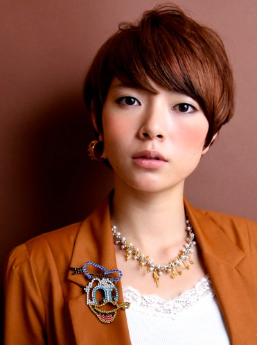 Trendy Short Japanese Haircut