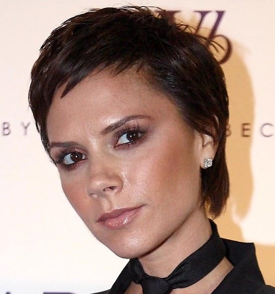 Victoria Beckham volumizedBoy Cuts