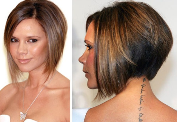 Victoria Beckham Graduated Bob Hairstyles Weekly