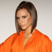 Victoria Beckham Short Inverted Bob Hairstyle