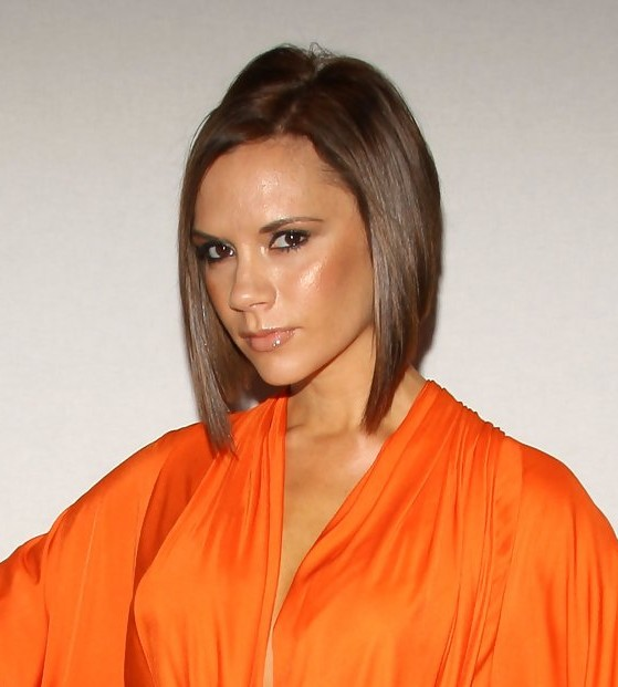 Wondrous Victoria Beckham Short Inverted Bob Hairstyle Hairstyles Weekly Short Hairstyles Gunalazisus
