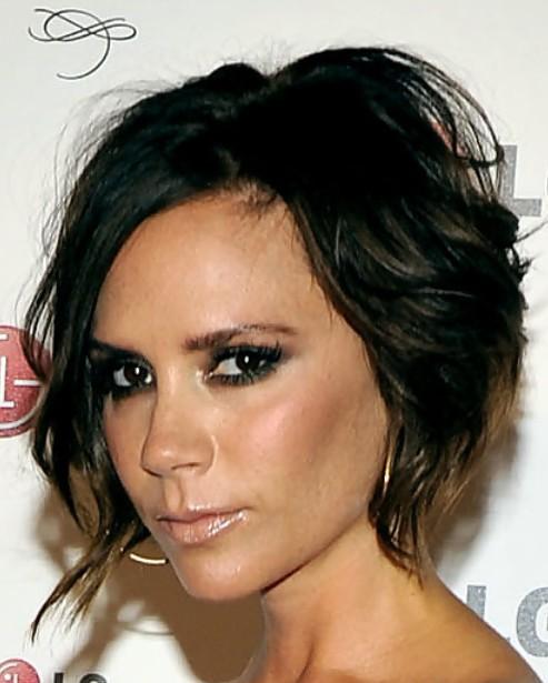 Pin Victoria Beckham Messy Haircut 99x150 New Best Cool Short Haircuts ...