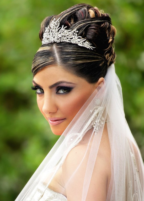 Stunning Wedding Hairstyles Updos with Veil 549 x 764 · 87 kB · jpeg