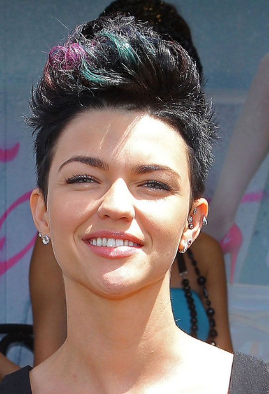 Faux Hawk Haircut for women