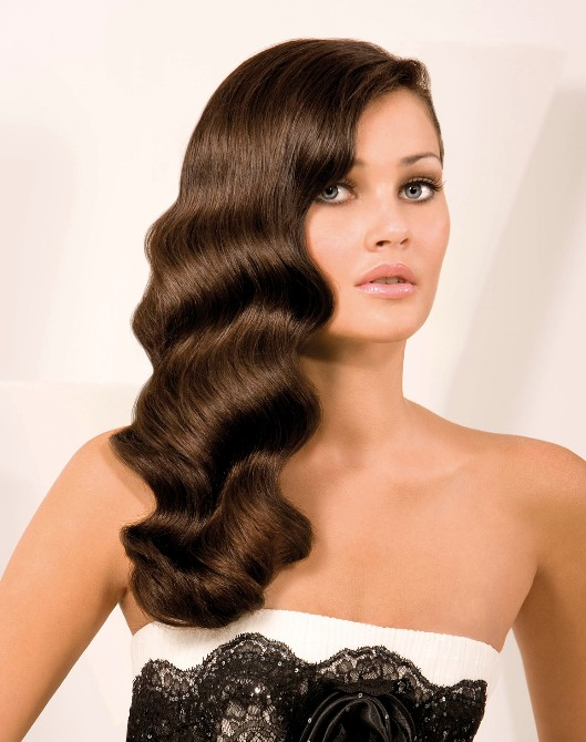 Finger waves hairstyle for long hair   Hairstyles Weekly