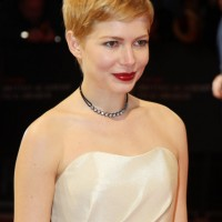 Mussed pixie haircut