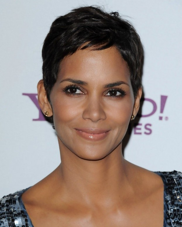 Pixie hairstyles for black women from Halle Berry