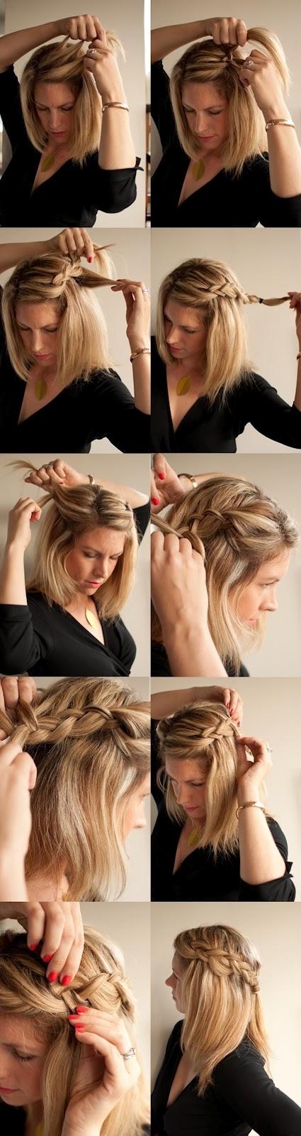 Excellent Braid Tutorials For Medium Length Hair Dpsc Tk Short Hairstyles For Black Women Fulllsitofus