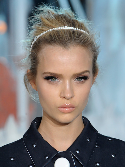 2013 Updo with the HeadBand Prom Updo Hairstyles 2013