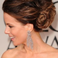 2013 Wedding Hairstyles: Kate Beckinsale Bobby Pinned updo
