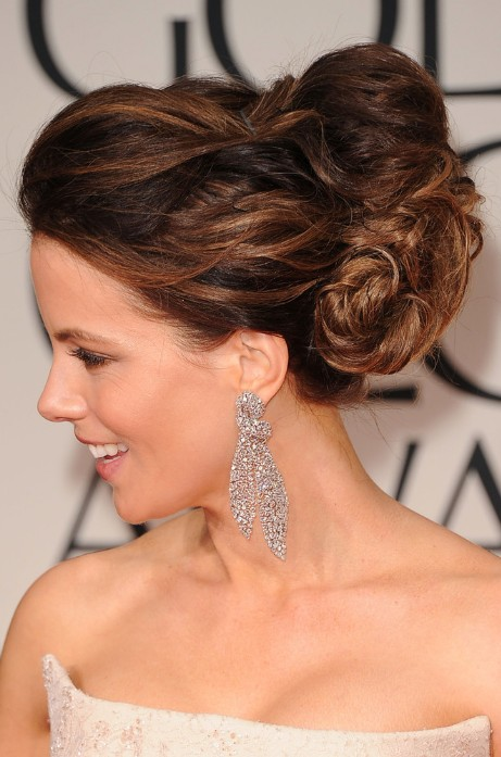 2013 Wedding Hairstyles: Side view of Kate Beckinsale Hairstyle
