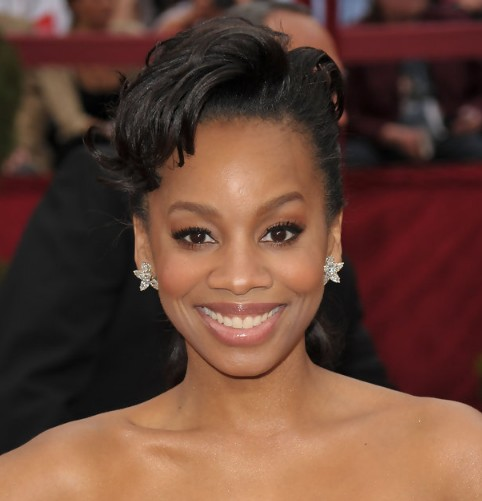 Marvelous African American Updo Hairstyles For Women Hairstyles Weekly Short Hairstyles Gunalazisus