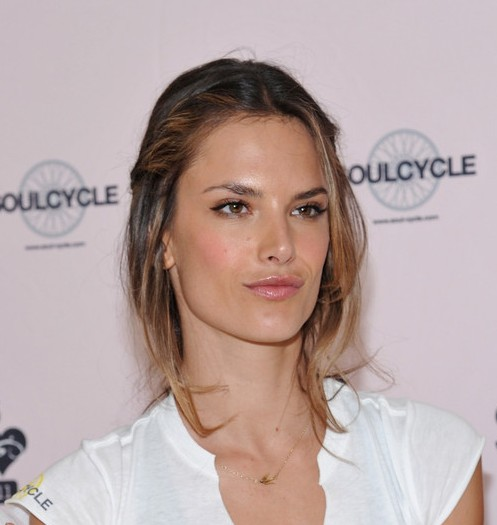 Amazing Alessandra Ambrosio Cute Messy Updo With Braids Hairstyles Weekly Short Hairstyles For Black Women Fulllsitofus