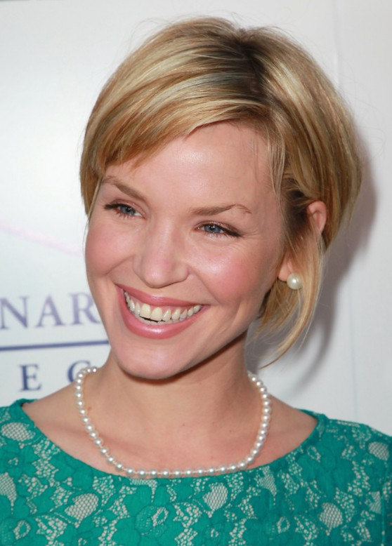 Pleasing Ashley Scott Cute Sassy Bob Hairstyle Hairstyles Weekly Hairstyles For Women Draintrainus