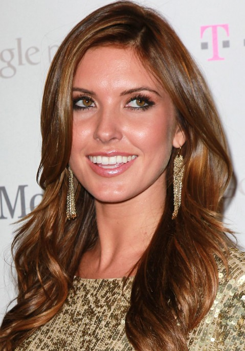 audrina patridge hair style sexy long wavy hairstyle for