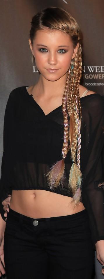 Swell Ava Sambora Long Braided Hairstyle Hairstyles Weekly Hairstyles For Men Maxibearus