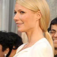 Beautiful Long Blonde Low Ponytail Hairstyle